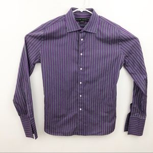 Ralph Lauren Black Label French Cuff Shirt Size 14